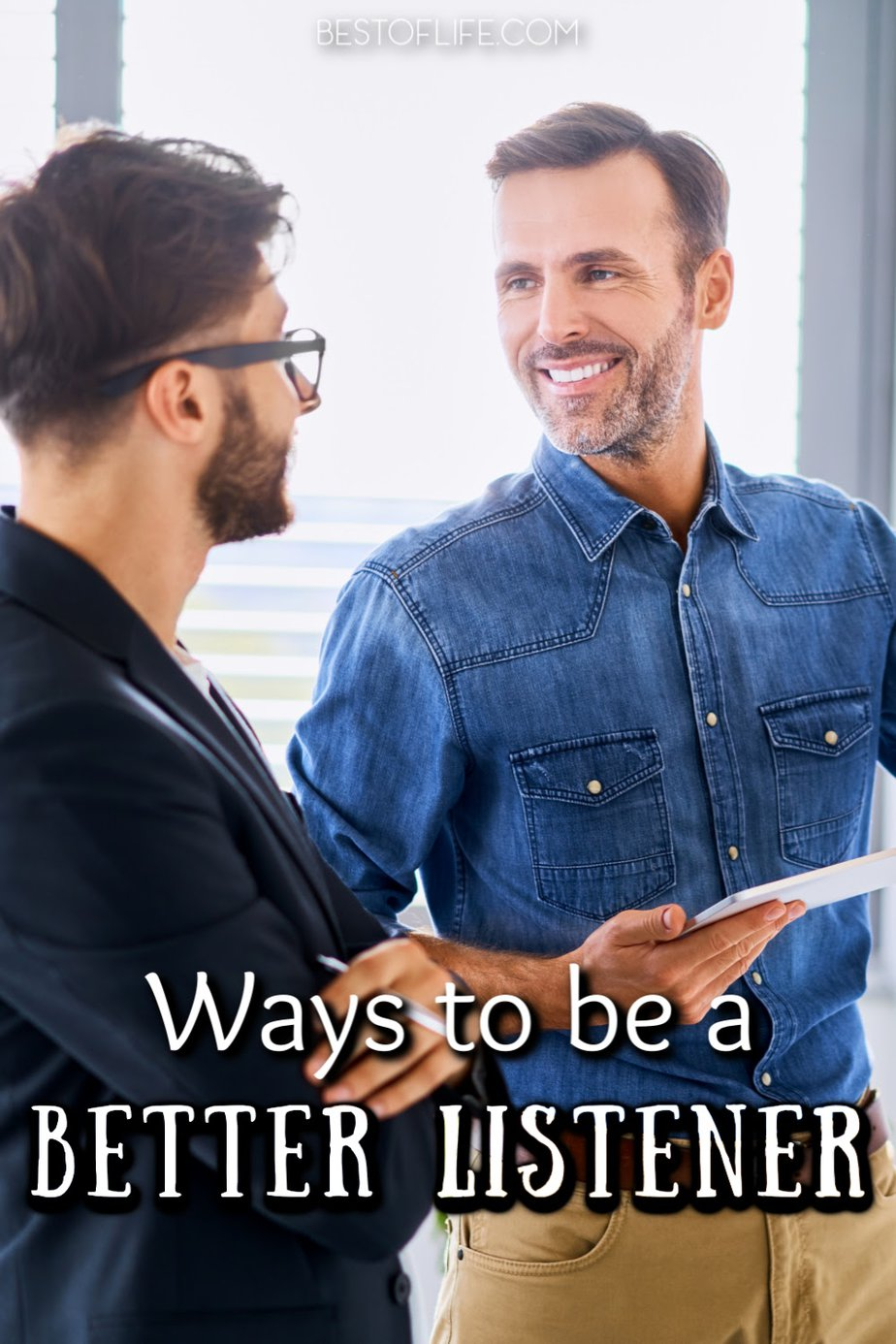 The best ways to be a better listener could help in many different aspects of life from romance to professional and everything in between. Lifehacks | Tips for Listening | Ideas for Listening | Ways to Pay More Attention #life #hacks