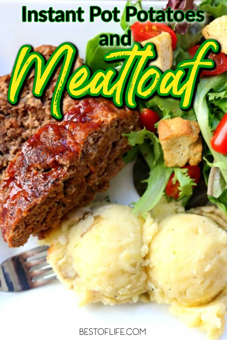 Instant pot meatloaf and mashed potatoes are the definitions of comfort food for many families and you can make these easy recipes when you are short on time. Instant Pot Family Dinner Recipes | Meatloaf Recipes | Instant Pot Dinner Recipes | Instant Pot Mashed Potatoes Recipes #instantpot #recipes