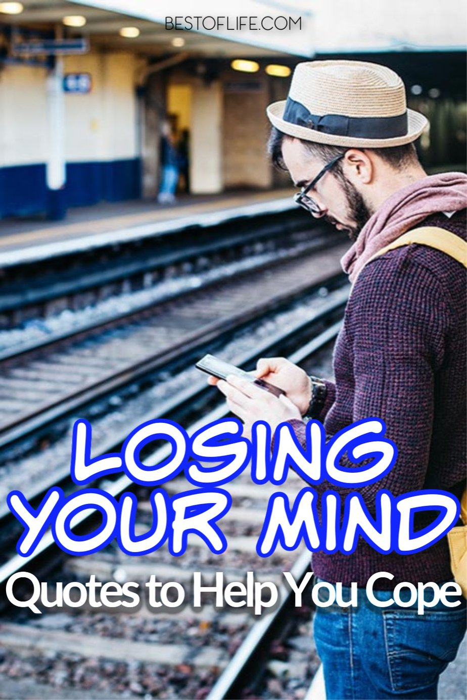 Losing your mind quotes may not solve your problems but they are funny quotes that can help you cope when times are stressful. Funny Quotes | Quotes to Inspire | Motivational Quotes | Quotes about Stress | Sarcastic Quotes #quotes #funny