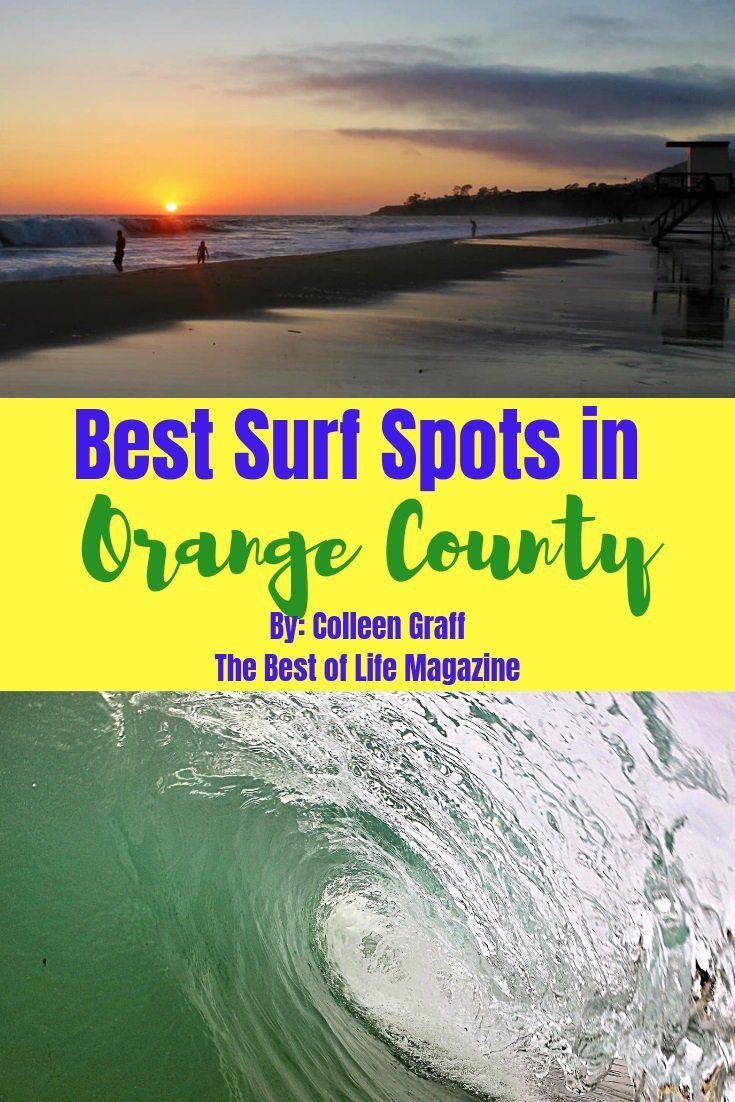 Our comprehensive guide of the best surf spots in Orange County for surfers and beach lovers alike will make enjoying Southern California easy! Where to Surf in Orange County | Beaches in Orange County | Things to do in Orange County | Best OC Surf Spots | Travel Tips via @thebestoflife