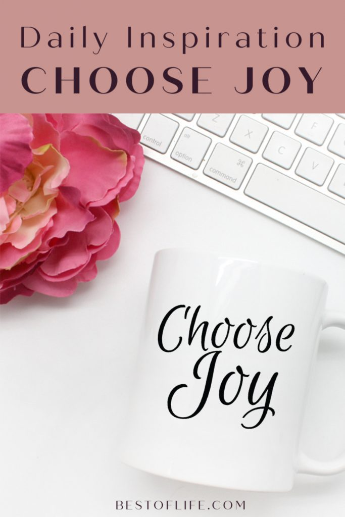 Choose Joy Script Mug Gift Friend Mom