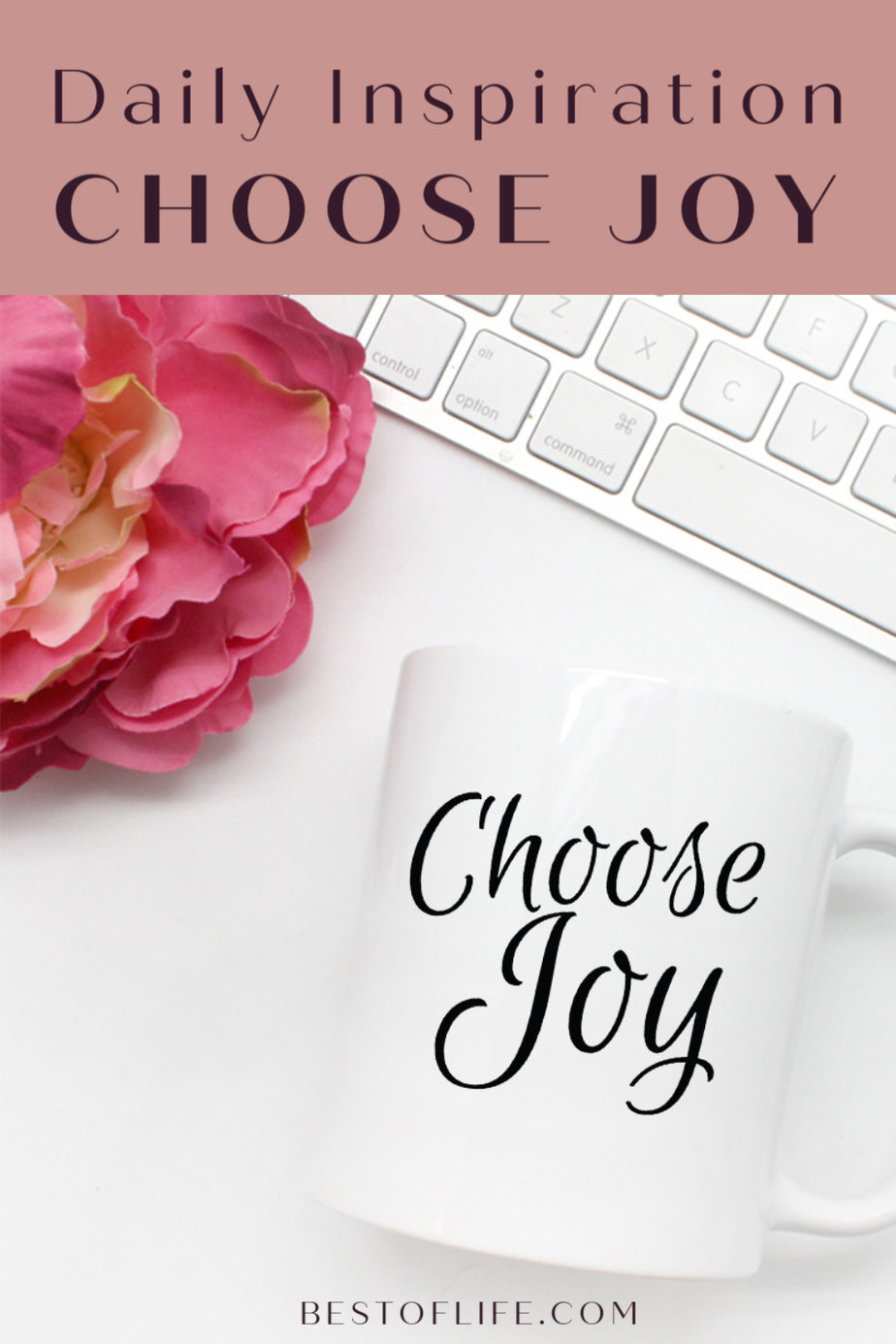 Simple and to the point as all life's lessons should be. Start your day with happiness with this Choose Joy script mug and spread positivity to everyone! Inspirational Quotes | Mugs for Work | Mother's Day Gift Ideas | Happiness Quotes | Gift Ideas for Friends | Quotes and Inspiration via @thebestoflife