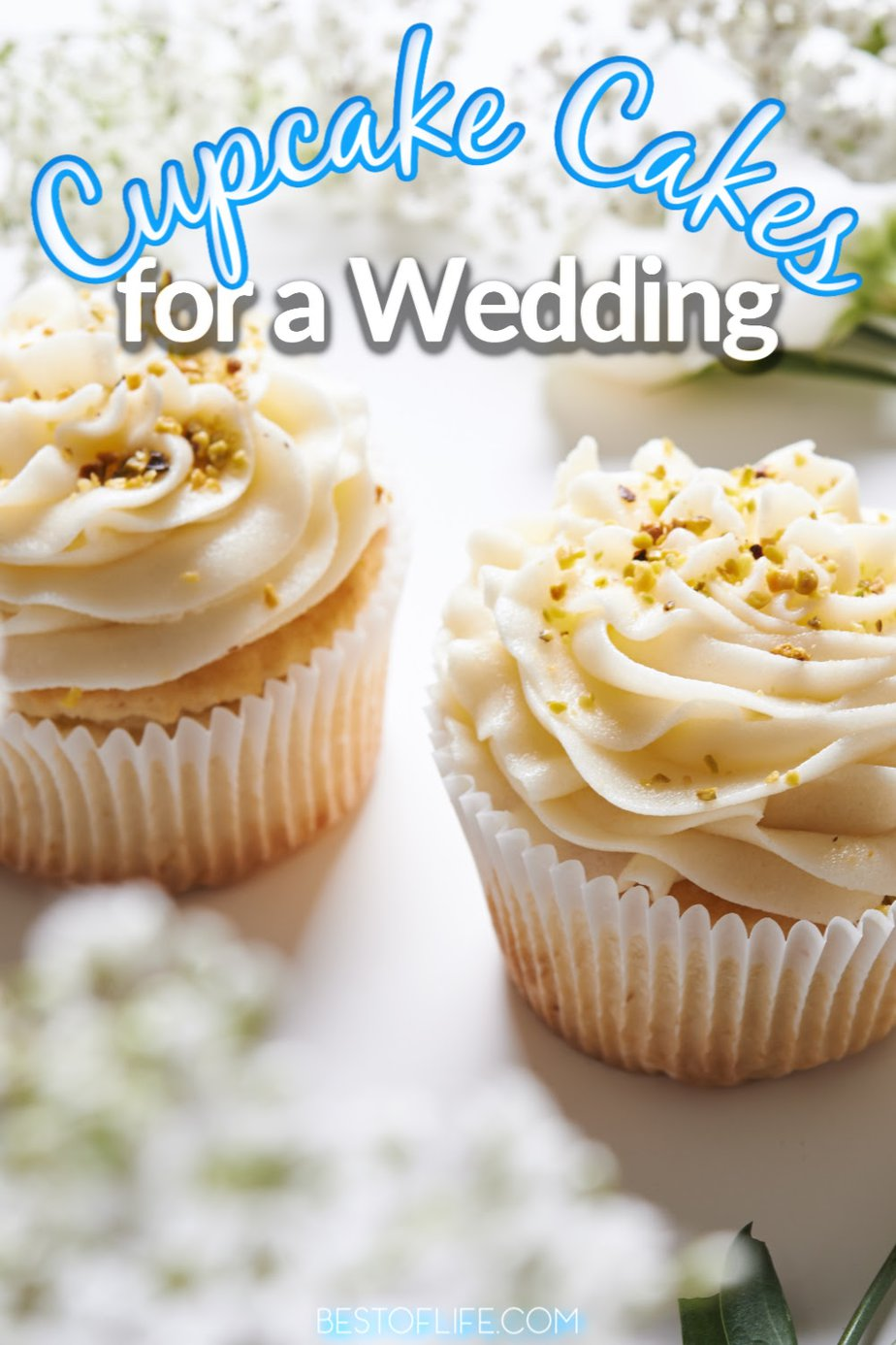 Cupcake cakes for a wedding can be as customized as any of the best wedding cakes can be and they are even easier to share with the entire party. Wedding Cake Ideas | Wedding Cake Designs | Cupcake Wedding Cake Rustic | Wedding Cake Inspiration | Simple Wedding Cake | Cupcake Wedding Cake Table #wedding #cupcakecakes #cupcakes