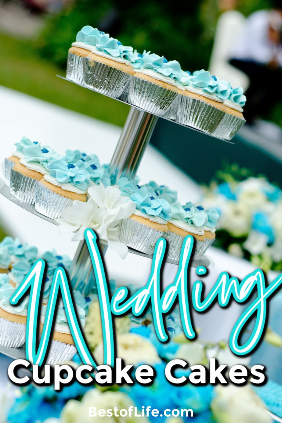 Cupcake cakes for a wedding can be as customized as any of the best wedding cakes can be and they are even easier to share with the entire party. Wedding Cake Ideas | Wedding Cake Designs | Cupcake Wedding Cake Rustic | Wedding Cake Inspiration | Simple Wedding Cake | Cupcake Wedding Cake Table #wedding #cupcakecakes #cupcakes via @thebestoflife