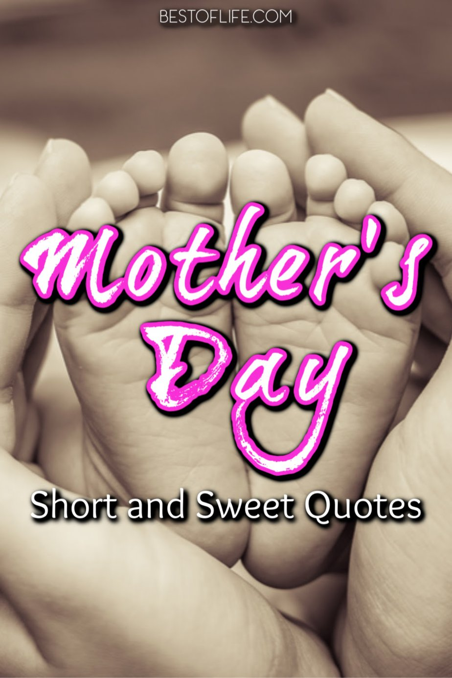 Mother's Day quotes can be short and sweet and just as meaningful to show mom just how special she is to you. Mother's Day Quotes for Everyone | Quotes for Mom | Mothers Day Quotes From Son | Quotes for Mothers Day | Loving Quotes About Mom | Sayings for Mothers Day #quotes #mothersday