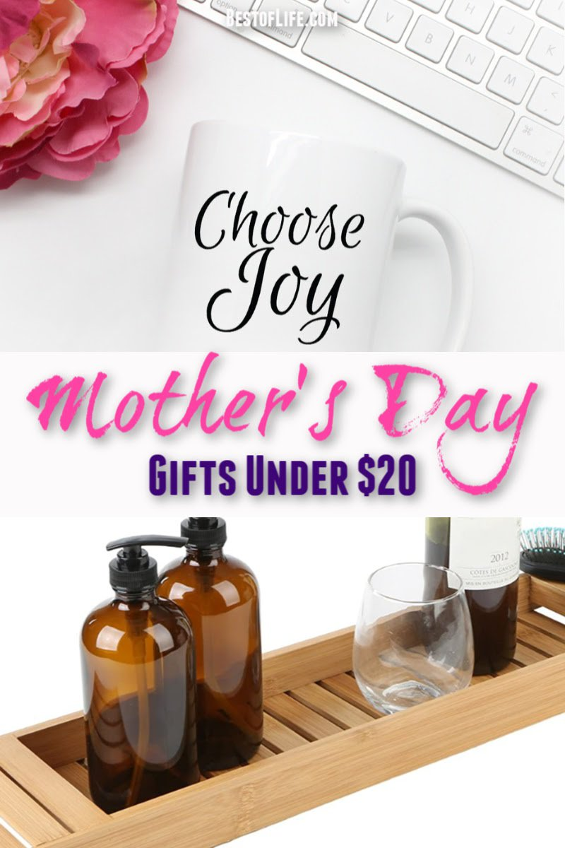 The best Mother's Day gifts under $20 show mom that money isn't what matters, but rather that memories, inside jokes, and the love you share is what matters most. Gifts for Her | Mother's Day Gifts from Kids | Cheap Mother's Day Gifts | Mother's Day DIY Ideas | Gifts for Mom Under $20 | Gifts for Women #mothersday #gifts via @thebestoflife