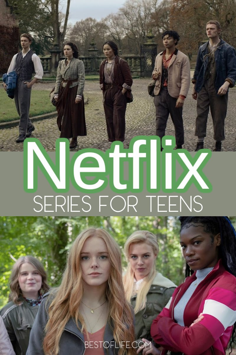 Whether your teen wants to watch TV alone or together as a family, they will enjoy the best Netflix series for teens. Best Netflix Shows for Tweens and Teens   Best New Netflix Shows   Best Things to Watch on Netflix   What to Watch on Netflix   Shows to Watch on Netflix TV Series Teens   Good Shows on Netflix Series for Teens   Netflix Shows for High Schools #teens #netflixseries via @thebestoflife