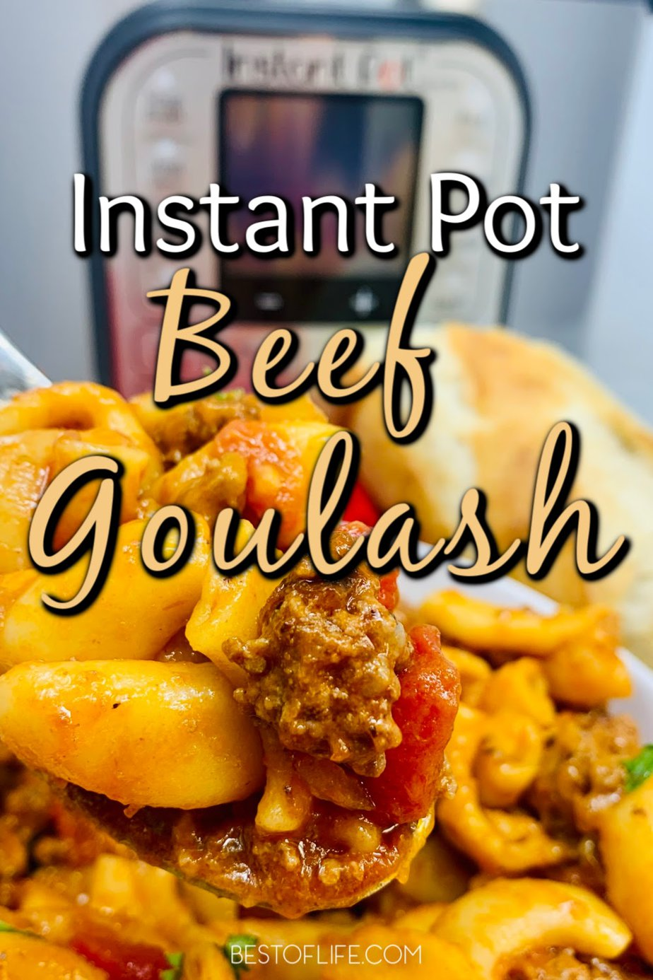 Making a pressure cooker beef goulash recipe is an easy way to enjoy a family dinner that is full of flavor and requires minimal meal prep time. Instant Pot Beef Recipe | Instant Pot Hamburger Meat Recipes | Pressure Cooker Recipes with Beef | Instant Pot Goulash Recipe | Easy Family Dinner Recipes | Instant Pot Dinner Recipes #instantpot #beef