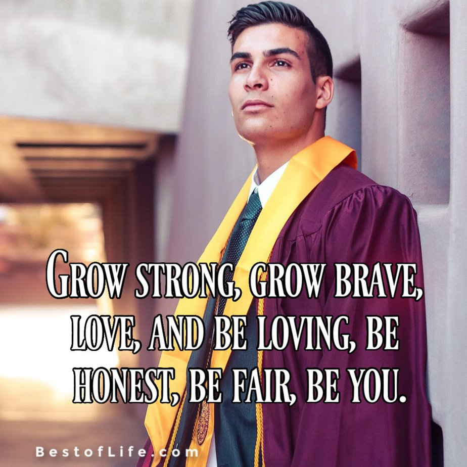 The best graduation quotes for your son could help express the way you feel and the pride you feel when your child graduates. Graduation Quotes for Son from Mother | Proud Parents Quotes for Graduation | Graduation Quotes from Parents | Father Son Graduation Quotes | Proud Parents Quotes for Son | What to Write in Your Son's Graduation Card | Graduation Words from Mom to Son