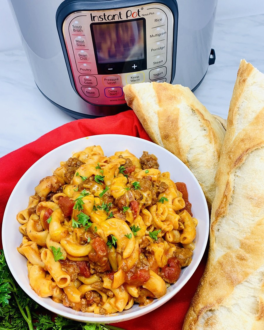 Making a pressure cooker beef goulash recipe is an easy way to enjoy a family dinner that is full of flavor and requires minimal meal prep time. Cheesy Goulash | Classic Goulash | Goulash Recipe Easy Hamburger Recipe | Ground Beef Goulash Recipe | Goulash Casserole | Hungarian Goulash Recipe