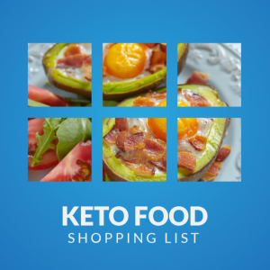 best keto Food shopping list ebook