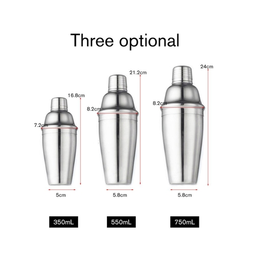 We all want to make craft cocktails and look like a professional bartender. With this stainless steel cocktail set, you can make craft cocktails and host great parties and look like a professional bartender in the process!