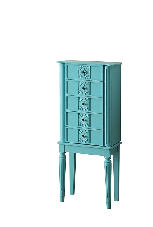 A beach house or farmhouse style home is beautifully complemented by the right accessories like this chic jewelry armoire with raised mirror. Jewelry Armoire with Lock | Beach House Jewelry Armoire | Farmhouse Jewelry Armoire | Stunning Home Accents | Home Furniture Features | Home Decor for Women | Luxury Home Decor with Purpose #jewelry #style