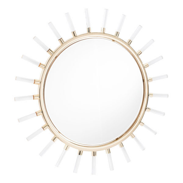 A mirror is a great way to add the illusion of more room to a tiny space and this sunlight mirror adds class to that space in a unique and beautiful way. Metal Sunburst Mirror | Sunburst Wall Decor | Classy Wall Decor | Classy Wall Mirror | White Sunburst Mirror | Sunburst Mirror Frame | Luxury Home Decor | Wall Mirror for Small Room #sunburst #walldecor