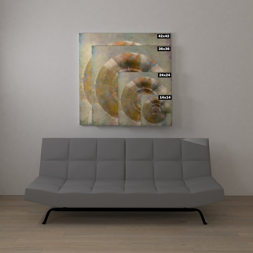 Bring the beauty of nature into any space you'd like with this beautiful sea shell art that adds natural beauty to your home decor scheme.