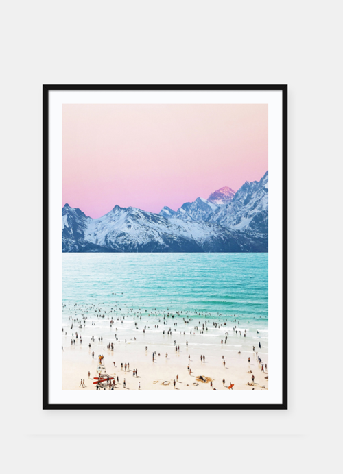 Bring a beautiful piece of nature into your home with a pink sky with ocean wall art that perfectly adds beauty to your home decor ideas. Ocean Wall Art | Sunset Wall Art | Tree Wall Art | Mountain Wall Art | Colorful Art Prints | Landscape Wall Art Prints | Home Decor Ideas | Wall Art Decor Ideas #sunset #homedecor
