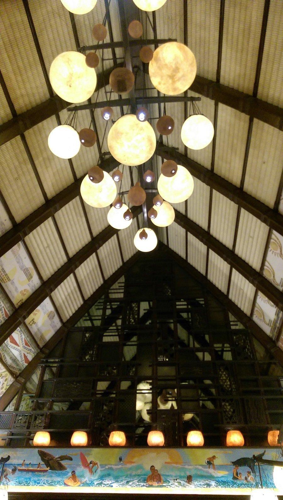 Makahiki Aulani Breakfast Building Interior