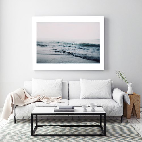 Get a little dose of inspiration every morning when you hang this beautiful wall art that tells the tales of morning in one photo. Photography Wall Art | Water Photography Art | Photography Art with Water | Outdoor Photography | Inspirational Photos | Inspirational Wall Art | Home Decor for Photographers #nature #dormdecor