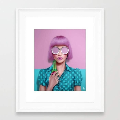 Soda pop art belongs on the walls of a trendy home that has a lot to say about current style trends and is in need of some pops of color. Pop Wall Art Designs   Pop Art   Pop Art Wall Art   Art Prints with Color   Pink Wall Art Prints   Fun Wall Art   Home Decor Ideas   Party Decor Ideas   Gifts for Graduates #homedecor #homedesign