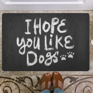 I hope you like dogs because this home is clearly a dog home. Now is your chance to leave if you don't love dogs the way we do.
