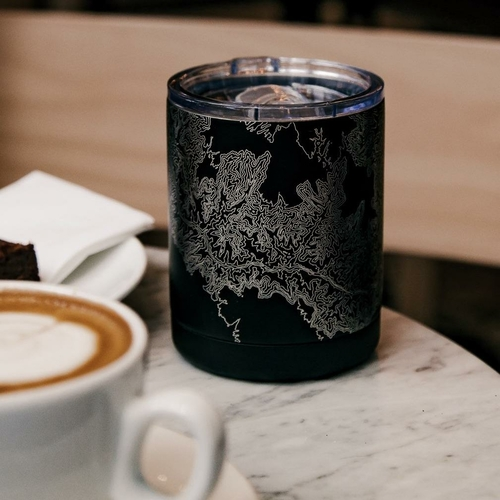 Show your Love of Lake Tahoe with this insulated cup featuring a custom engraved map of Lake Tahoe California and coordinates. This insulated cup is perfect for your beverage to take on the go. Travel Cups | Lake Tahoe Travel | United States Travel Ideas | Kitchen Gadgets | GIfts for Him | Gifts for Her via @thebestoflife