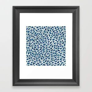 Abstract art is a great way to add a touch of class to just about any part of your home and this abstract blue whales framed art is the perfect place to start. Whale Wall Art | Wale Art in Frame | Art Prints Animals | Animal Art Print | Blue Whale Art | Family Room Wall Art | Wall Art Decor Tips #whales #art