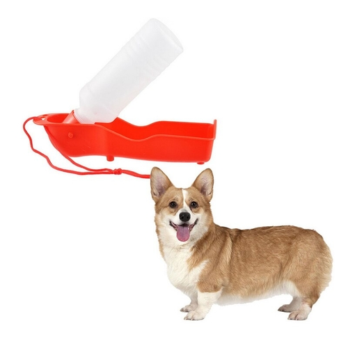 You can bring this portable dog water bottle anywhere you and your best friend travel, so they stay hydrated and healthy. Portable Pet Water Bottle | Pet Travel Water Bottle | Dog Water Bottle for Crate | Pet Travel Supplies | Pet Supplies for Travel #travel #pets