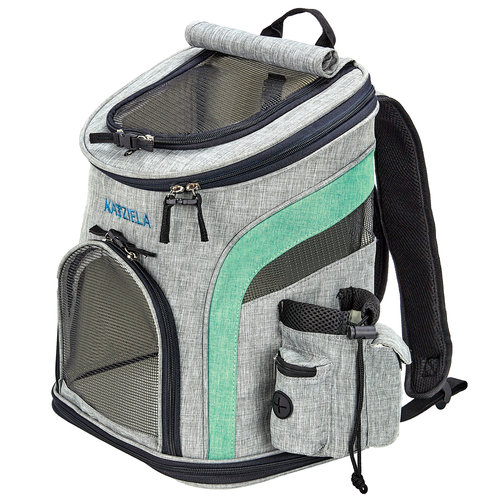 This airline approved pet backpack makes it easy to travel with your pet comfortably. You can even go on hikes and take them to the beach with this comfortable pet carrier bag. Pet Backpack Bubble | Pet Carrier | K9 Backpack | Dog Backpack Carrier | Front Facing Dog Carrier | Travel Gear for Pets | Pets Travel Gear #travel #petowners via @thebestoflife