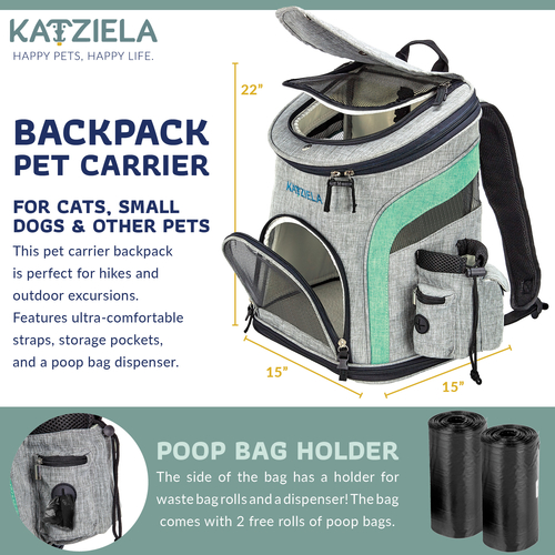 This airline approved pet backpack makes it easy to travel with your pet comfortably. You can even go on hikes and take them to the beach with this comfortable pet carrier bag. Pet Backpack Bubble | Pet Carrier | K9 Backpack | Dog Backpack Carrier | Front Facing Dog Carrier | Travel Gear for Pets | Pets Travel Gear #travel #petowners