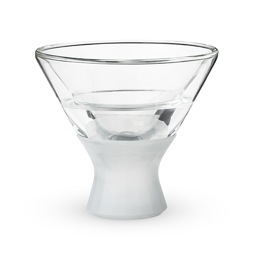 The FREEZE martini cooling cup will keep your martinis cold all year long, regardless of whether you enjoy them shaken or stirred. Unique Martini Glasses | Barware | Cocktails | Drink Recipes | Cocktail Glasses #martini #cocktails via @thebestoflife