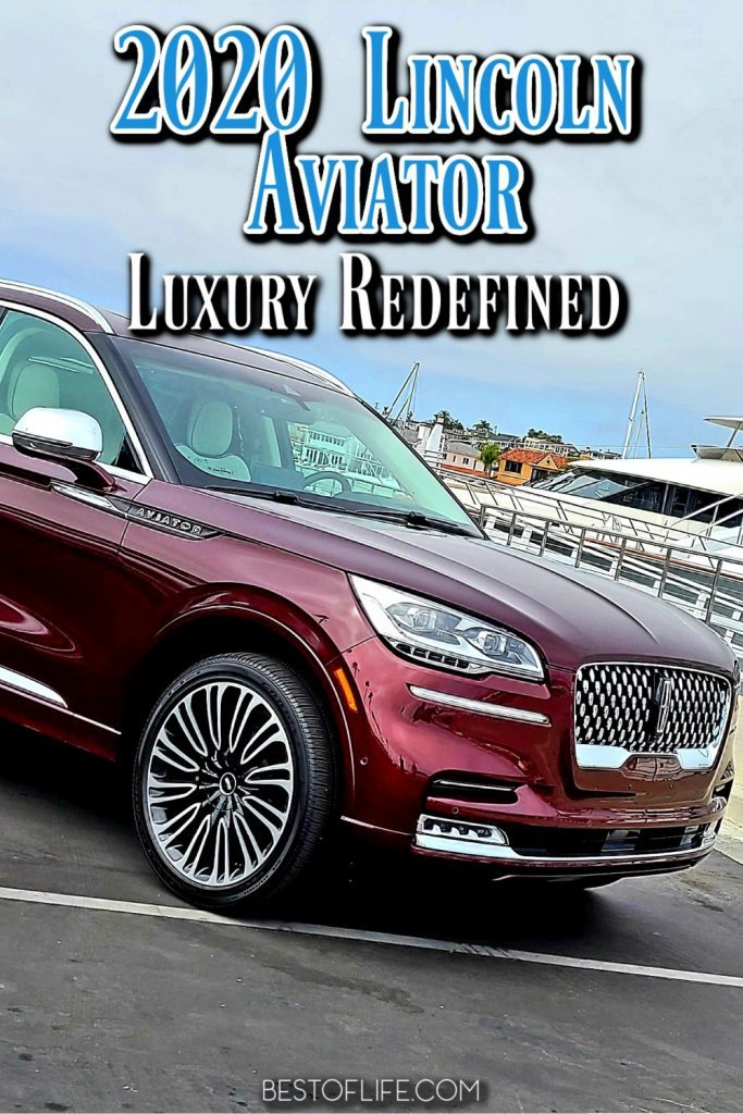 The 2020 Lincoln Aviator redefines luxury with an oasis of upgrades that create a driver sanctuary. Cars for Parents | Luxury Living | Luxury Lifestyle | Car Reviews | Best of Life | Revel Audio