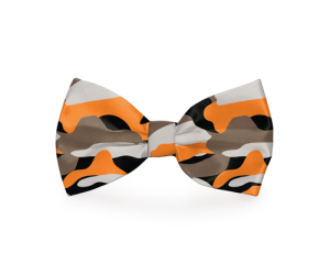 Ther is nothing better than adding some style to your pet's look and this orange camo dog bow tie is the perfect way to do that. Camo Dog Tie | Dog Collar Camouflage Bow Tie | Camo Dog Tie | Colorful Dog Bow Tie | Camo Dog Bow | Dog Bow Tie Combat Camo | Dog Bows #dog #fashion
