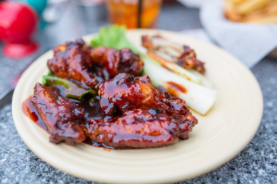 Instant Pot Bourbon Chicken Recipes Chicken Wings with Celery