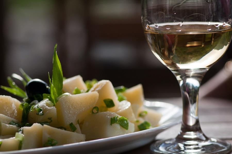 Instant Pot German Potato Salad Recipes Potato Salad on a Plate