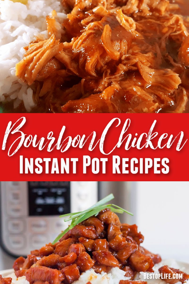 Making Instant Pot bourbon chicken recipes for a family dinner recipe, dinner party recipe, or even as a make ahead meal will speed up your weekly meal prep. Saucy Chicken Instant Pot | Instant Pot Chicken Thighs | Bourbon Chicken Pressure Cooker | Instant Pot Dinner Recipes with Chicken | Easy Instant Pot Dinner Recipes | Chicken Pressure Cooker Recipes #instantpot #chicken via @thebestoflife