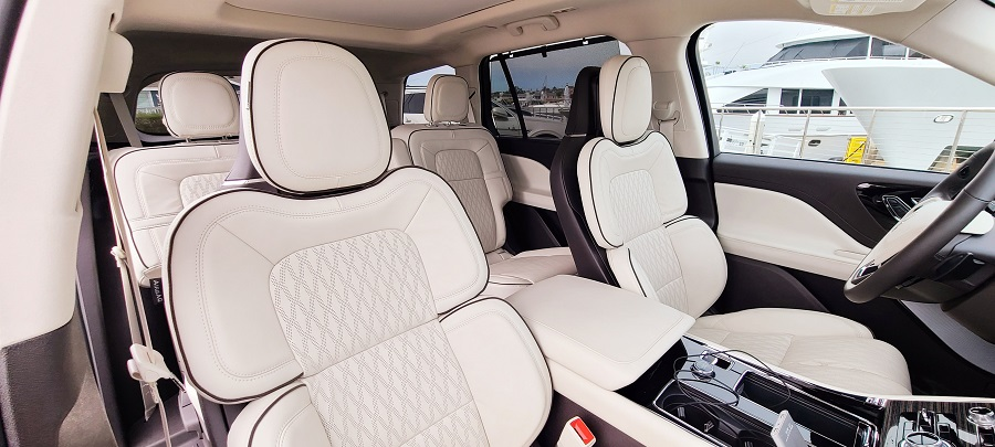 2020 Lincoln Aviator Leather Interior