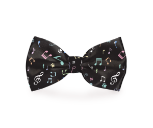 A black dog bow tie is a great way to get a little classy with your dog's style and the musical instruments add a level of sophistication to the look. Large Dog Bow Tie | Dog Bow Tie Collar | Dog Bow Tie Attach to Collar | Music Dog Bow Tie | Bow Tie for Dogs with Instruments #doggy #fashion