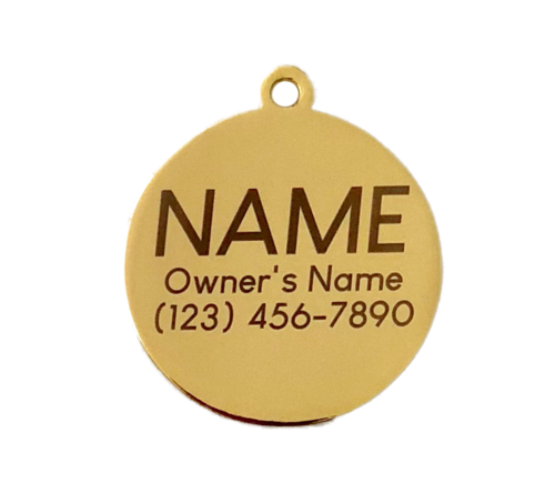 "Let your dog's sarcasm shine with this ""Have your people call my people"" dog tag that is stylish and engravable to be personalized for your dog. Funny Dog Tags for Male Dogs 