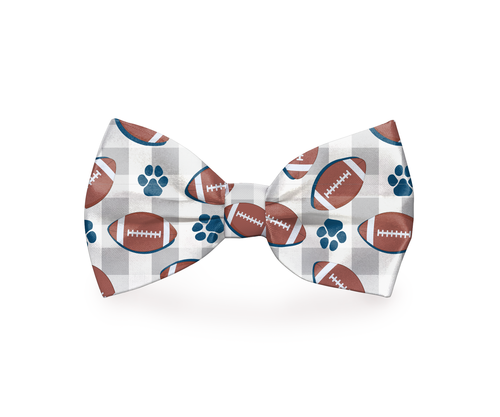 Your dog is a natural born athlete who is ready to run at any given moment, but this football dog bow tie says your dog is running towards the end zone. Sports Accessories for Dogs | Sporty Bow Ties for Dogs | Football Pet Fashion | Stylish Pet Accessories #football #petowners via @thebestoflife