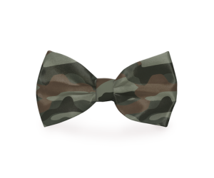 A camouflage dog bow tie blends into any collar but will definitely make your dog stand out a bit more on your walks around town. Camo Bow Tie for Dogs | Camo Accessories for Dogs | Combat Camo Dog Bow Tie | Military Dog Accessories | Armed Forces Bow Tie for Dogs | Dog Owner Ideas #dogs #camo