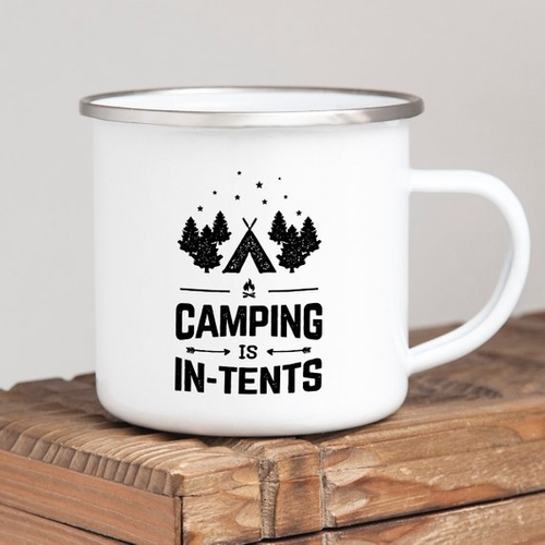 Camping is in-tents and we don't blame you for wanting to make sure you have the best tents for camping so it is less intense. Tips for Camping | Camping Ideas | Cute Camping Quotes | Camping Puns | Dad Joke Coffee Mugs | Camping Mugs with Quotes #quotes #camping