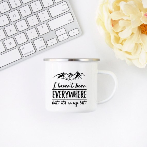 We all could use a reminder that we need to wanderlust everywhere, as often as possible because the best travel ideas are just waiting to be discovered. Best Travel Quotes | Coffee Mugs with Inspirational Quotes | Coffee Mugs for Travel | Gift Ideas for Coworkers | Mug Quotes for Him | Coffee Mug for Travelers #travel #quotes