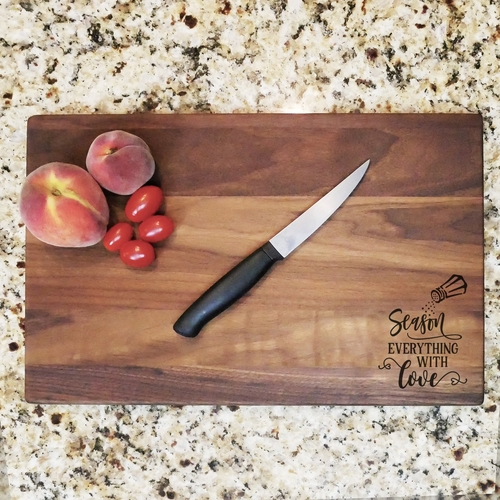 A walnut cutting board is the perfect addition to any kitchen and helps with meal planning and party preparations. Walnut Cutting Board End Grain | Large Walnut Cutting Board | How to Use a Cutting Board | Gift Ideas for Chefs | Home Cook Gift Ideas #kitchen #giftideas