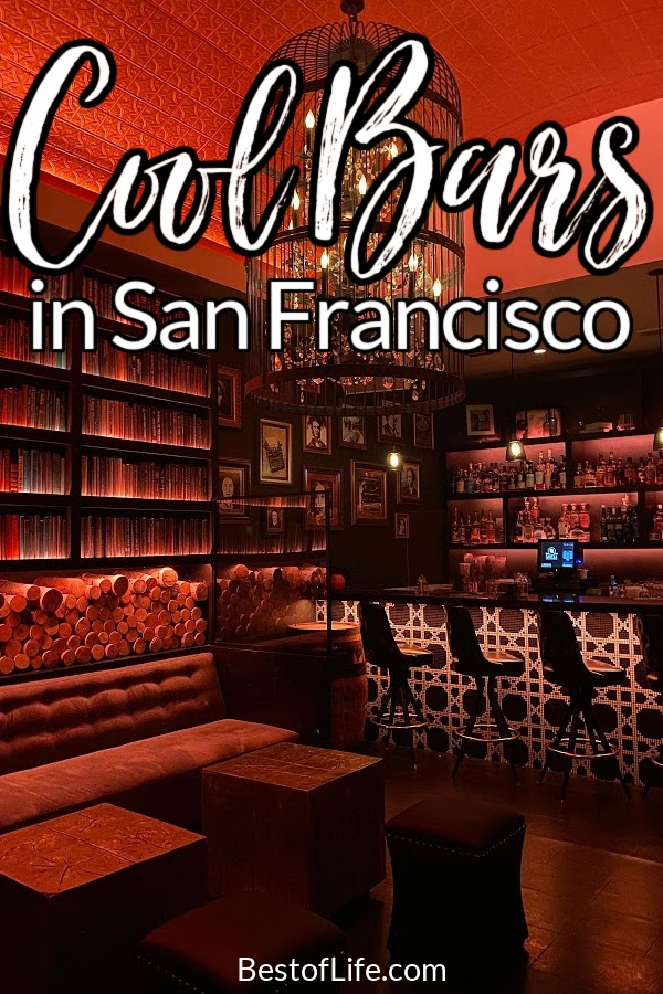 San Francisco is full of things to do! While visiting, be sure to check out the coolest bars in San Francisco. Best Bars in San Francisco   Best Themed Bars in San Francisco   Where to Drink in San Francisco   Travel Tips for San Francisco   Bay Area Bars   Things to do in San Francisco  Things to do in California #travel #traveltips via @thebestoflife