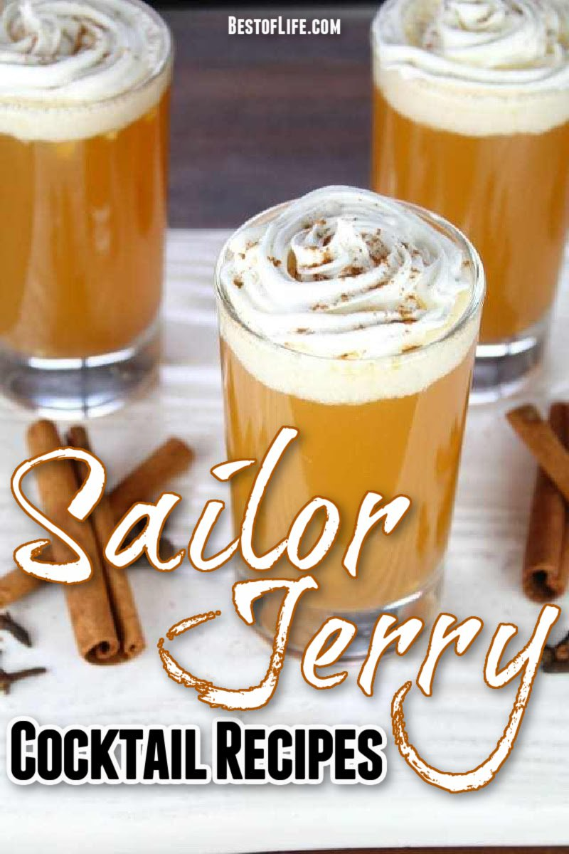 Here you have the best Sailor Jerry rum drinks that offer flavor and flare for a weeknight or weekend staple. Enjoy these best drinks with rum responsibly! Dark Rum Cocktails | Classic Rum Cocktails | White Rum Cocktails | Spiced Rum Cocktails | Summer Cocktails with Rum | Modern Cocktails with Rum | How to Make Cocktails with Dark Rum | Happy Hour Recipes with Rum #rum #cocktails via @thebestoflife