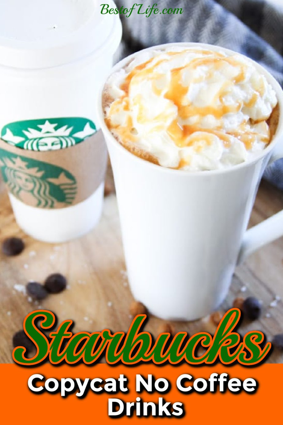 Making Starbucks no coffee copycat drink recipes are easier than you may think and can save you a lot of time since there is no line at home. Starbucks Drink Recipes | Starbucks Recipes at Home | Copycat Starbucks Recipes | Starbucks Drinks Without Coffee | No Coffee Starbucks Drinks | Fruity Starbucks Drinks #starbucks #recipes via @thebestoflife
