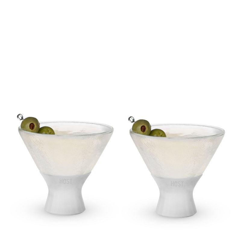 What better way to enjoy your martini than shaken, stirred, and cold? The Glass FREEZE martini glass keeps your cocktail perfectly chilled so you can enjoy every sip to the fullest. Martini Recipes | Shaken Martini Recipes | Stirred Martini Recipes | Party Planning | Cocktail Glasses | Host Freeze Glasses #martini #cocktail