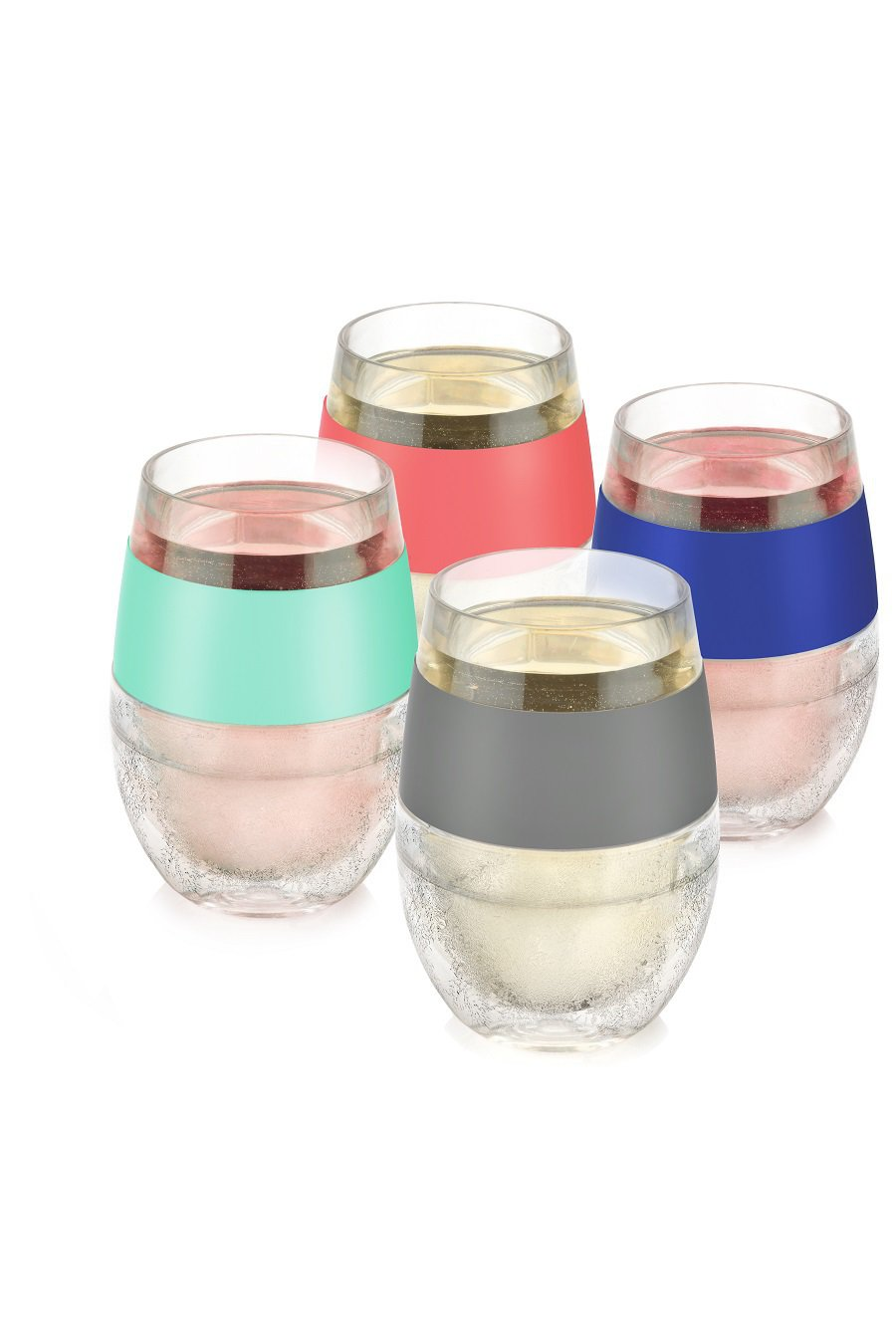 Wine FREEZE cooling cups will keep your reds and whites at the perfect drinking temperature for hours as you enjoy your wine. Cooling Wine Cups | Freezeable Wine Glass | Party Planning Ideas | Party Drink Ideas | Gifts for Wine Lovers | Wine Gifts for Her | Party Ideas #wine #gifts via @thebestoflife