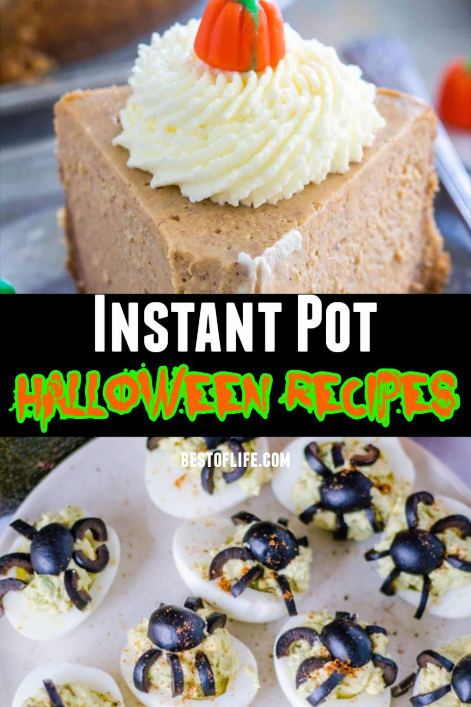 Instant Pot Halloween recipes are easy to make and can help you get in the spooky spirit or spirits of the season. Halloween Instant Pot Recipes | Halloween Food Instant Pot | Instant Pot Holiday Recipes | Halloween Party Food | Holiday Party Ideas | Halloween Recipe Ideas | Instant Pot Halloween Dinner #halloween #instantpot via @thebestoflife