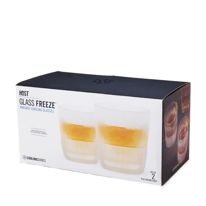 A glass FREEZE™ Whiskey Glass is the best way to keep your whiskey cold without diluting it with ice so you can enjoy the whiskey you love at full flavor. Freezable Whiskey Glasses | Whiskey Glass Set | Lowball Whiskey Glass | Freezable Glasses for Bourbon | Whiskey Recipes | Whiskey Drinking Tips #whiskey #cocktails